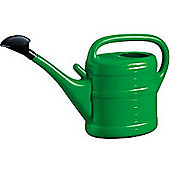 10L Garden Plant Watering Can By - Light Weight With Rose - Green Colour