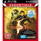 Resident Evil 5 Gold Move Edition Essentials - PS3