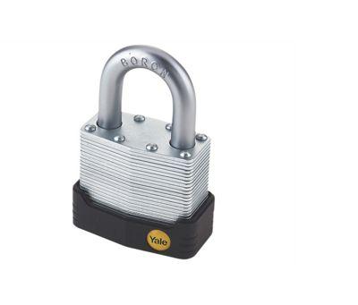Yale YALY12745 45 mm High Security Laminated Padlock - Yellow