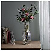 Fox & Ivy Lustre Ribbed Vase