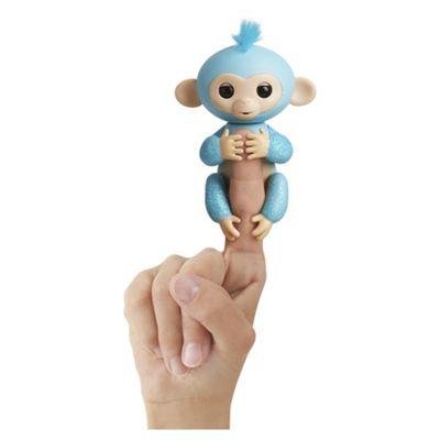 Fingerlings Glitter Monkey – Turquoise