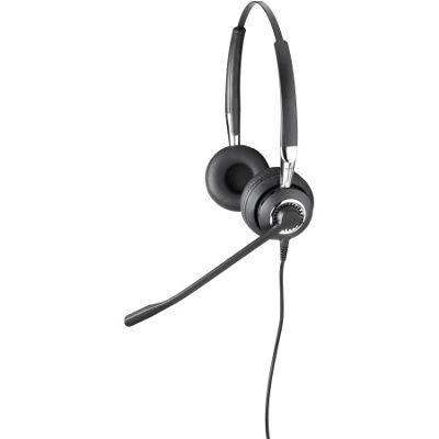 Jabra BIZ Wired Stereo Headset - Over-the-head - Supra-aural