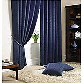 Alan Symonds Madison Pencil Pleat Curtains - Navy