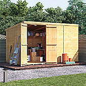 BillyOh Master Tongue and Groove Windowless Pent Shed 10x6