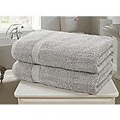 Royal Kensington Bath Sheet - Silver