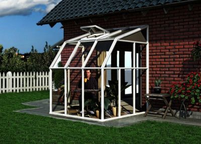 Rion 6X6ft White Sun Room