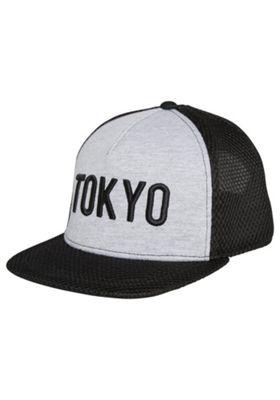 F&F Mesh Tokyo Snapback Cap Grey/Black 7-10 years