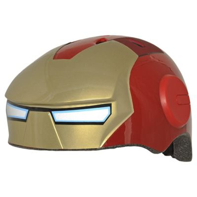 Avengers, 3D Iron Man, Kids' Bike Helmet, 50-54cm