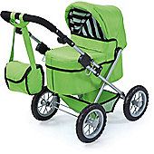 Bayer Design Trendy Dolls Pram (Green)