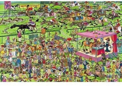 Ascot Horse Race - 1500 Piece - JVH Puzzle