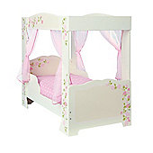 Girls Rose 4 Poster Toddler Bed