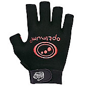 Optimum Stik Mit Rugby Gloves Black / Red - Black