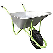 Bentley Garden Galvanised Wheelbarrow, 90L