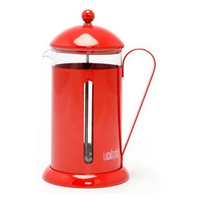 La Cafetiere Rainbow 8 Cup Cafetiere in Red