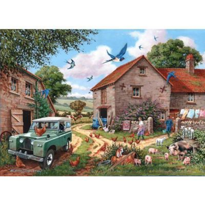 Farmers Wife - Extra Large Puzzle