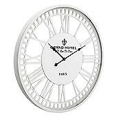 Paris Skeleton Wall Clock