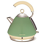 Morphy Richards 102255 Accents Pyramid Kettle - Sage Green