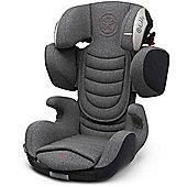 Kiddy Cruiserfix 3 Car Seat (Grey Melange/Hot Red)