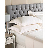 Riva Home Egyptian 400 Thread Count Fitted Sheet - Cream