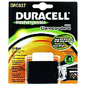 Duracell DRC827 2700 mAh Lithium-ion Rechargeable Battery