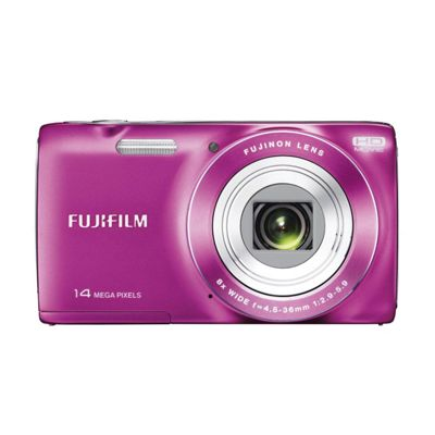 Fuji FinePix JZ100 Digital Camera, Pink, 14MP, 8x Optical Zoom, 2.7 inch LCD Screen