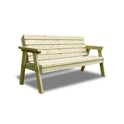 Thistleton garden seat - 2 seat