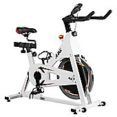 JLL IC300 Indoor Cycling Exercise Bike - White