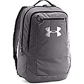Under Armour Hustle Light Backpack Rucksack Sports Bag Grey / Silver