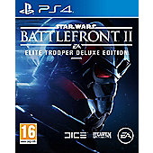 Star Wars: Battlefront II - Elite Trooper Deluxe Edition (Pre order only) PS4