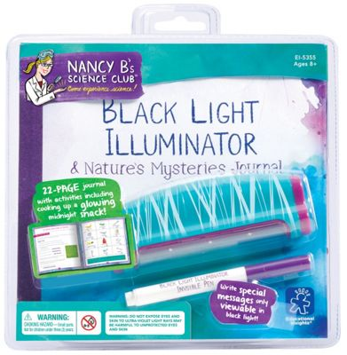 Learning Resources Nancy B's Black Light Illuminator