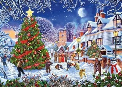 The Village Christmas Tree - 1000pc Puzzle