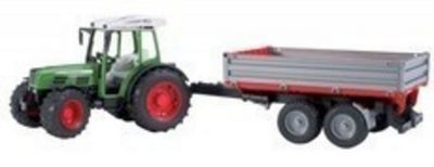 Fendt 209S Tractor with Tipping Trailer