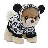 12cm Gund Itty Bitty Boo Grey Leopard Soft Toy