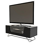 Alphason Chromium Black TV Stand for up to 50 inch TVs