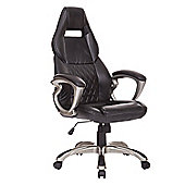 Homcom Computer Office Racing Chair Faux Leather PU Swivel Executive Furniture