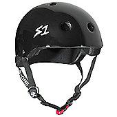 S1 Helmet Company Mini Lifer Helmet - Black Gloss (Extra Large)