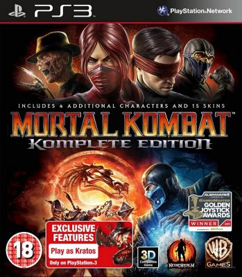 Mortal Kombat Komplete Goty Edition (PS3 )