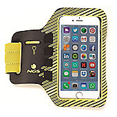 """NGS Sprintter 5"""" Armband case Brown Yellow 12.7 cm (5"""") Universal"""