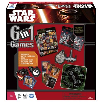 Star Wars 6 In 1 Games Box