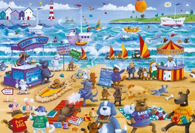Beach Buddies - 500pc Puzzle