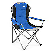 Kestrel Deluxe Padded Folding Chair - Blue