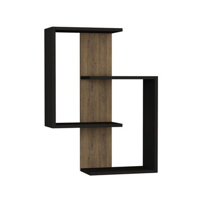 Paranoid Shelf Anthracite-Dark Oak