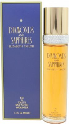 Elizabeth Taylor Diamonds & Sapphires Eau de Toilette (EDT) 100ml Spray For Women