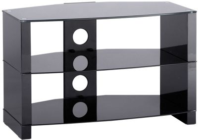 Alphason Gloss Black TV Stand for up to 37 inch TVs