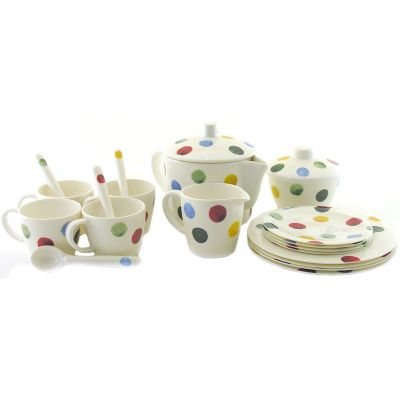 Emma Bridgewater Polka Dot Melamine Children's Tea Set