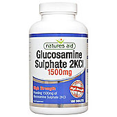 Natures Aid Glucosamine Sulphate 1500mg (High Strength) - 180 Tablets