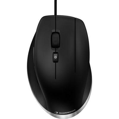 3Dconnexion CadMouse Mouse - Laser - Cable - 7 Button(s) - Matte Black