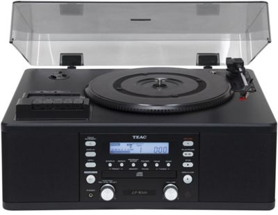 Teac LPR500 Vinyl and Cassette Copystation – Black