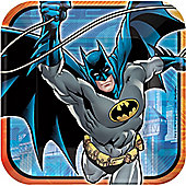 Batman Plates - 23cm Paper Party Plates - 8 Pack