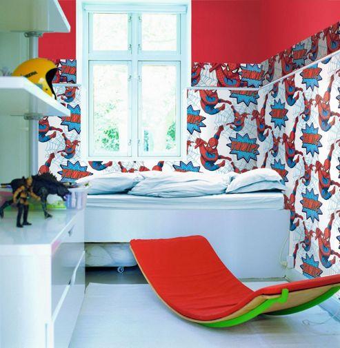 Spiderman Wallpaper Border - Thwip